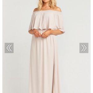Show me the ring crisp hacienda bridesmaid dress